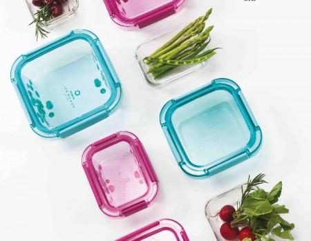 Oppbevaringsboks i glass